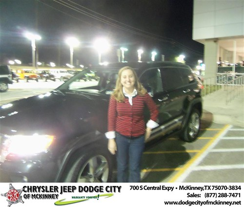 Happy Anniversary to Rob Giacobbe on your 2011 #Jeep #Grand Cherokee from Nichole Betts  and everyone at Dodge City of McKinney! #Anniversary by Dodge City McKinney Texas
