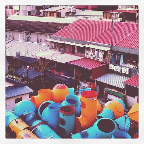 Where indoor playground equipment is laid to rest. #taiwan #nantou #caotun