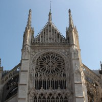 Postcards: Amiens Cathedral (FR)