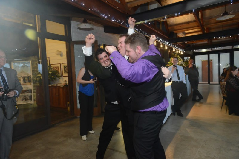 During the first dance lol