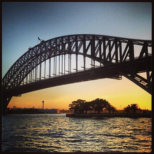 Harbour Bridge #sydney by @MySoDotCom