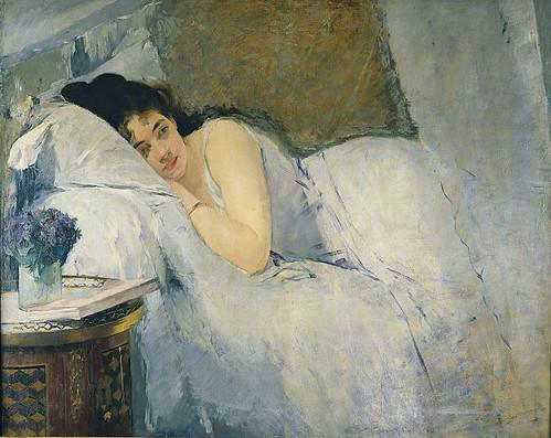 Awaking girl