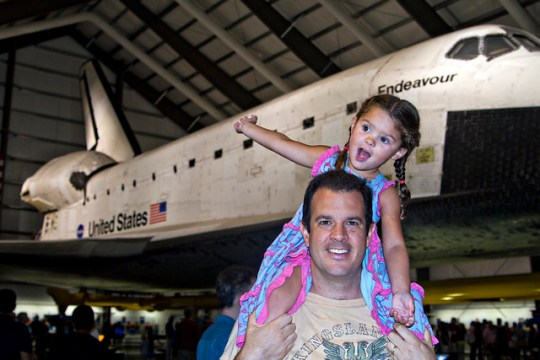 Space Shuttle Endeavour, Mike, Annie