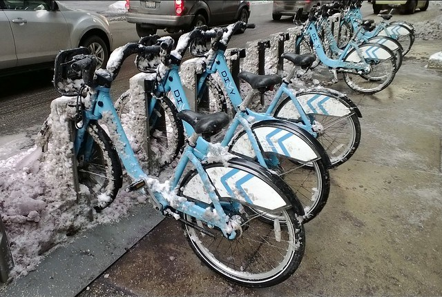 Divvy dock post-polar vortex