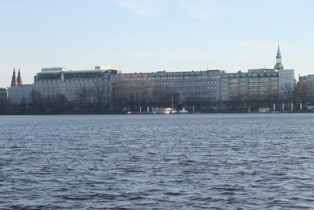 Lago Binnenalster, Hamburgo