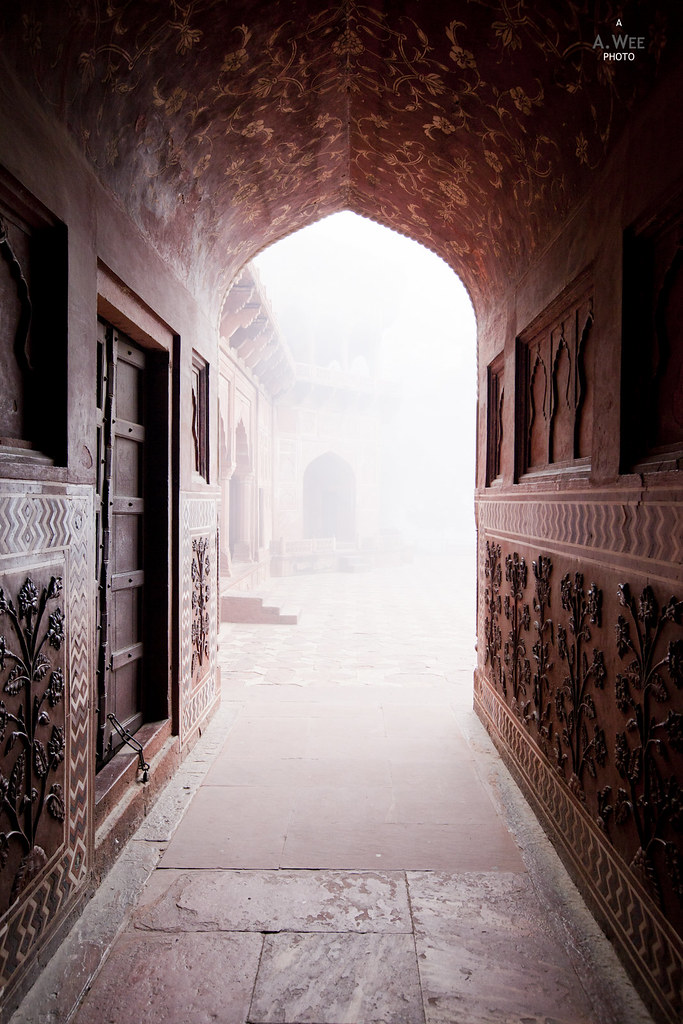 Arched Gate in the Mehmaan Khana