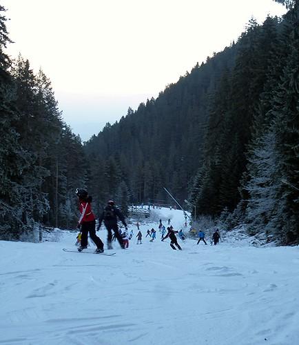 Ski Scene by dibach