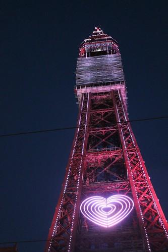 Blackpool tower by CrenellatedArts