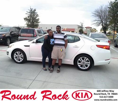 Happy Birthday to Terrence Fletcher from Eric Armendariz and everyone at Round Rock Kia! #BDay by RoundRockKia