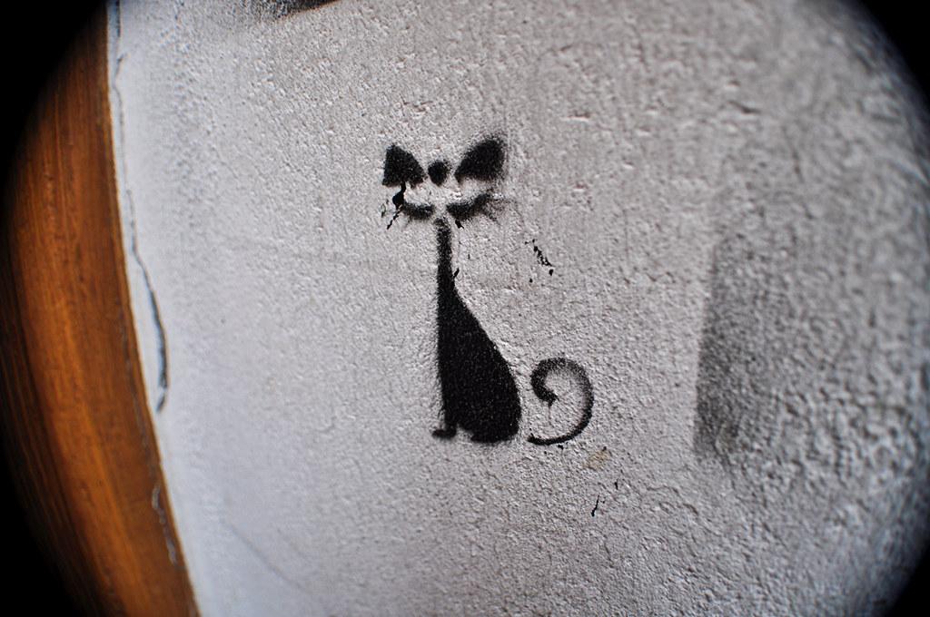 Pochoir Mini Chat Noir (1)