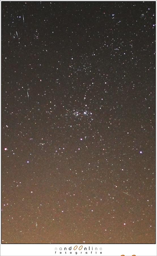 Een nieuwe sterrenregen de Camelopardalids,