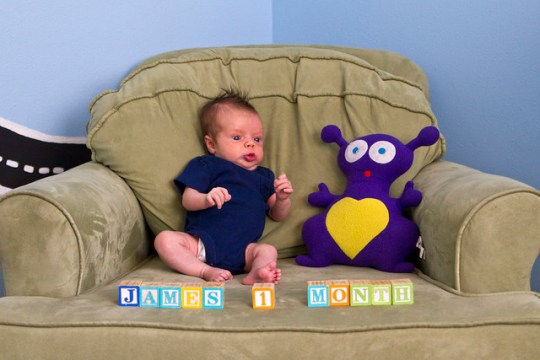 James, month one