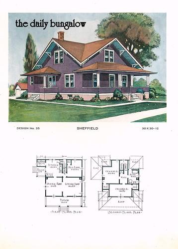 1920 Building Service House Plans