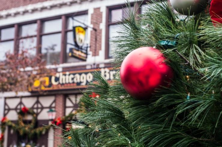 Lincoln Square Christmas Tree