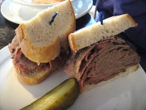 7 oz Roast Beef Brisket Sandwich
