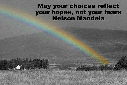 colorsplash rainbow nelson mandela