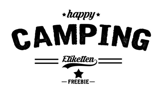 Camping-Etiketten (2)