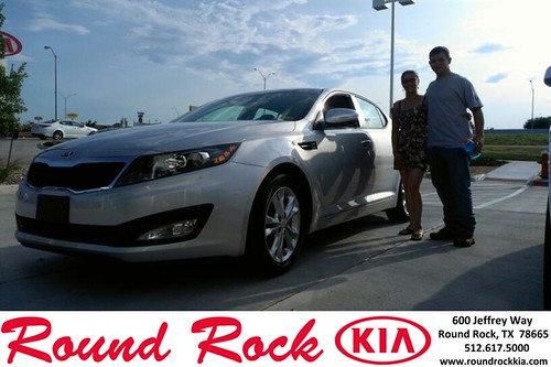 Thank you to Michelle Demarco on the 2013 Kia Optima from Kevin Rodriguez and everyone at Round Rock Kia! by RoundRockKia