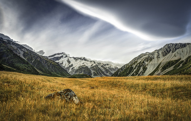 treasure of the valley | mt cook, nz