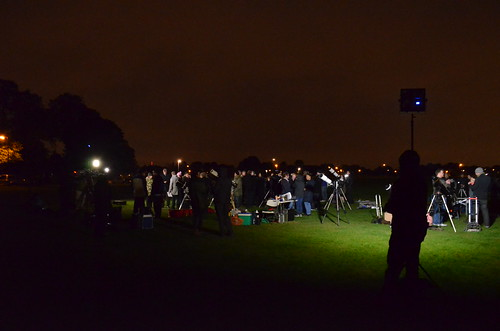 Astronomers in the not so dark