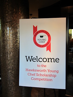 Welcome to Hawksworth Young Chef Scholarship Competition