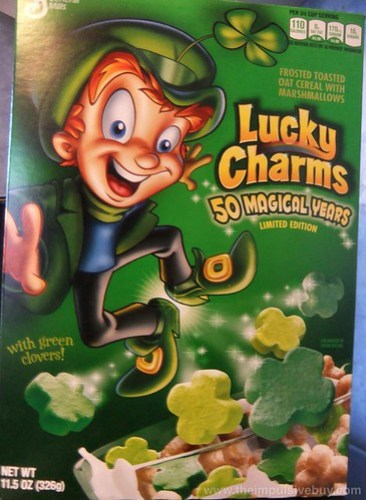 Lucky Charms Limited Edition 50 Magical Years Cereal