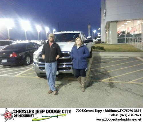 Thank you to Andrew Gross on your new 2013 #Ram #3500 from Henry Adologie and everyone at Dodge City of McKinney! #NewCar by Dodge City McKinney Texas
