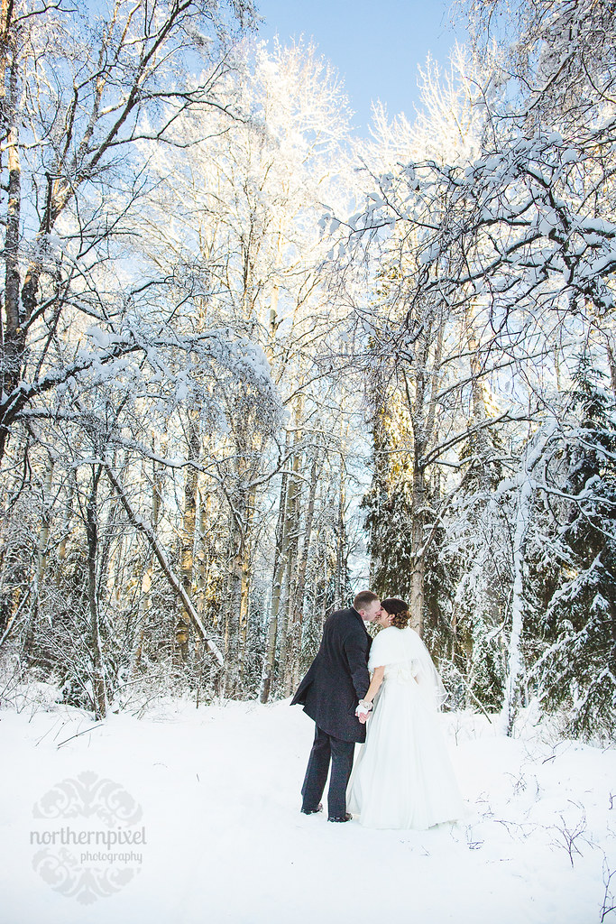 Winter Wedding - Prince George BC