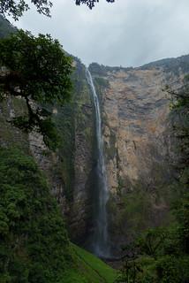 Gocta watervallen in alle glorie