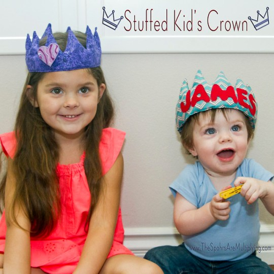 Stuffed Kid's Crown
