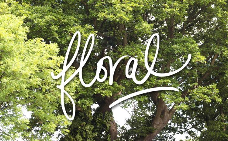 Floral Title