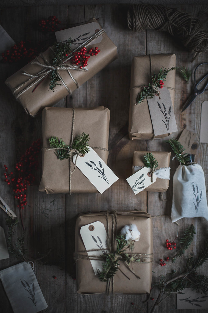 Foraged Gift Wrapping