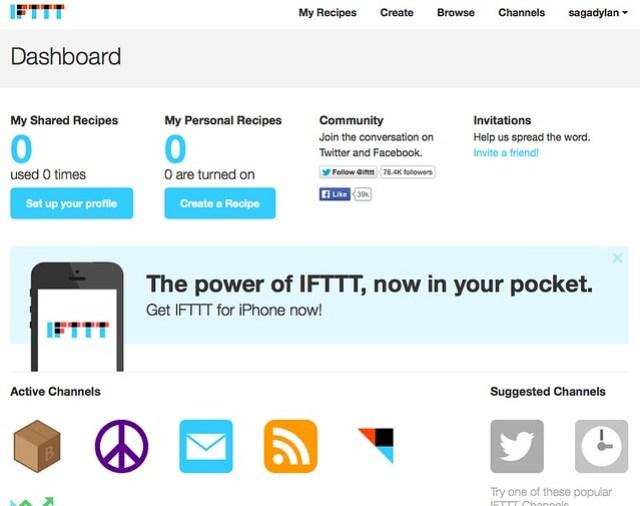 IFTTT___Dashboard
