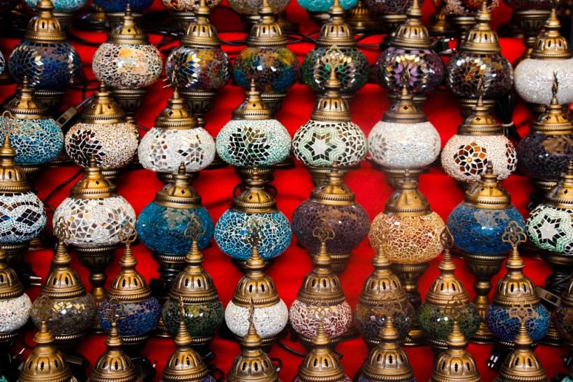 Bazaren/markedet i Bodrum