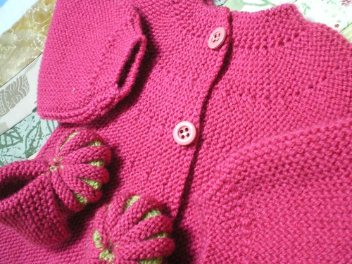 tricot layette brassière