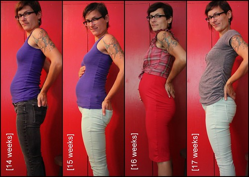Bump Watch, 2013: Weeks 14-17.
