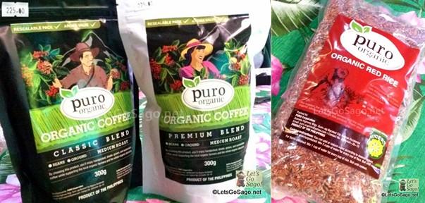 Organic Produce: Organic Coffee & Organic Red Rice