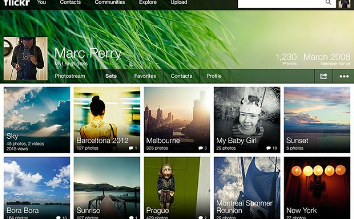 New Flickr Photostream experience