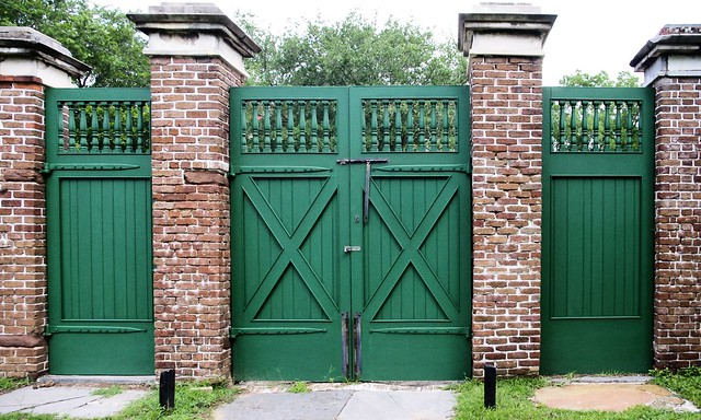 Green Gates, Aiken-Rhett House, Charleston, South Carolina, June 12, 2012