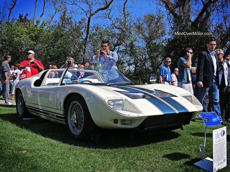 1965 Ford GT40 Roadster Prototype GT/108 at Amelia Island