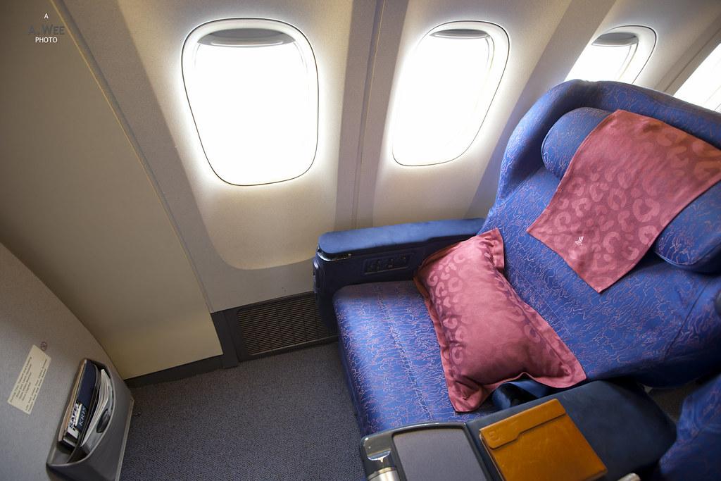 First Class Recliner Seat