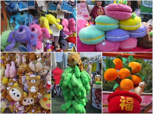 Foire du nouvel an chinois - Victoria Park - Hong Kong