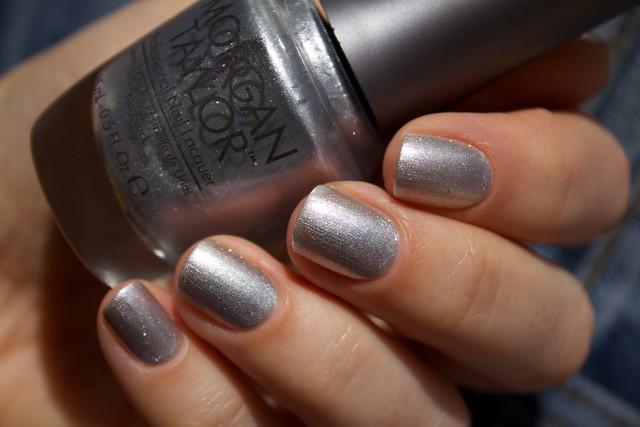 38 Morgan Taylor Oh Snap, It's Silver