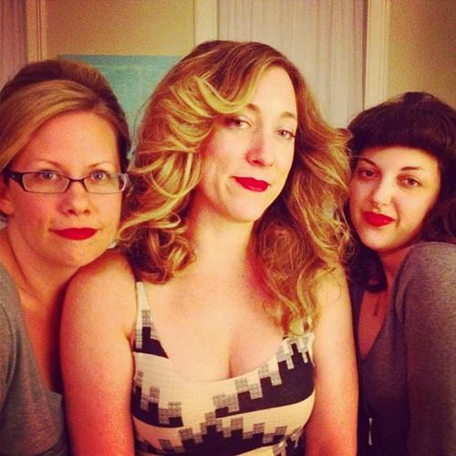 Beehive, Farrah & Bettie @jnoelle @rascalb