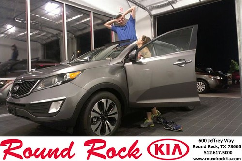 Thank you to Evan Daugherty on the 2013 Kia Sportage from Kevin Rodriguez and everyone at Round Rock Kia! by RoundRockKia
