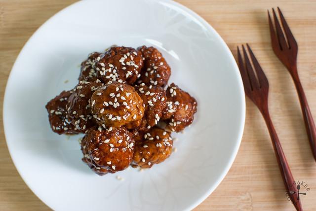 Tofu-Pork Meatballs