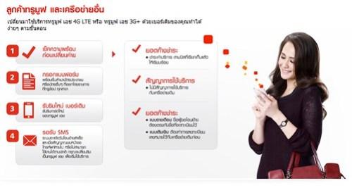 ลูกค้าเครือข่ายอื่น ย้ายค่ายมา TrueMove H 4G ได้ตามนี้