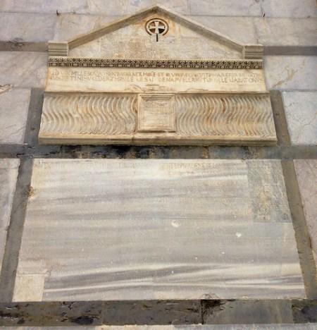 Sarcofago di Buscheto, cattedrale di Pisa