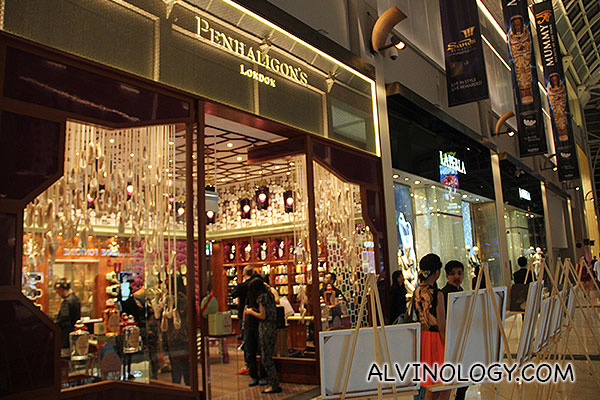 Penhaligon's at Marina Bay Sands