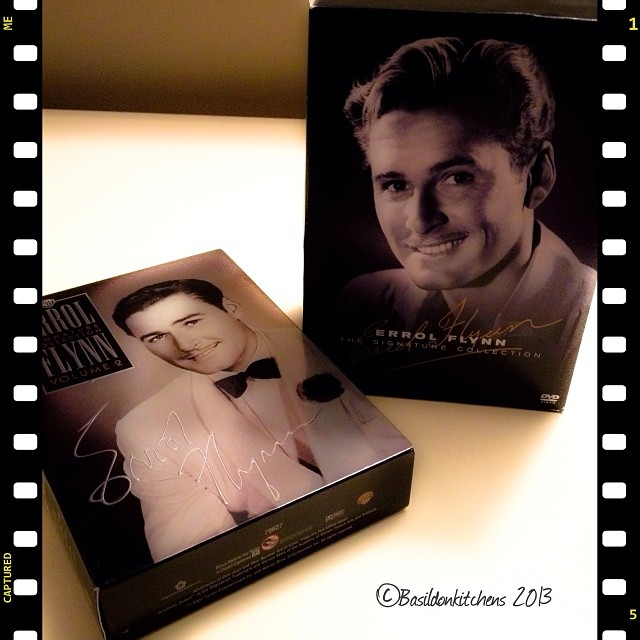 Nov 18 - larger than life {Errol Flynn; he was larger than life in both his movies roles and life} #photoaday #largerthanlife #errolflynn #actor #hollywood #movies
